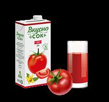 100% томатный сок ВкусноСок