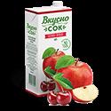 ВкусноСок - вкус вишня-яблоко