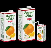 Разный формат упаковок линейки ВкусноСок