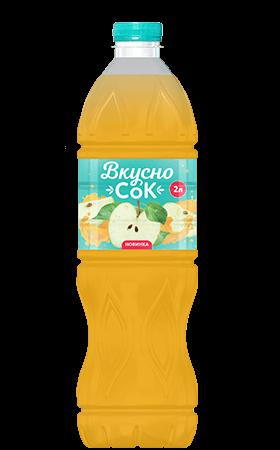 Яблочный безалкогольный напиток 2л