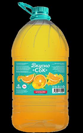 Апельсиновый безалкогольный напиток 5л