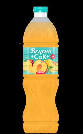 Персиковый безалкогольный напиток 2л
